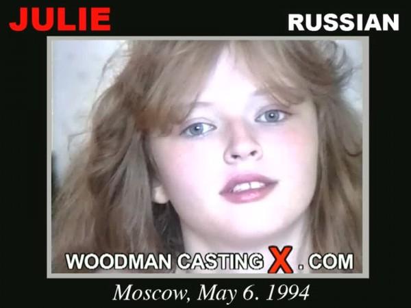 julie on woodman casting x official website